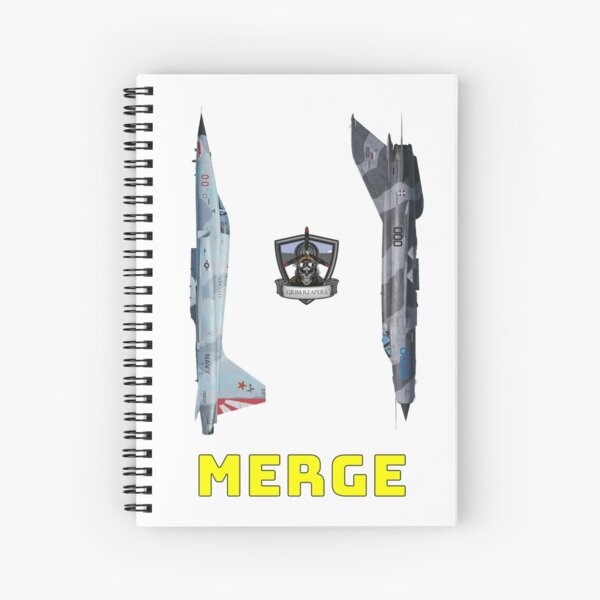 Merge! Spiral Notebook
