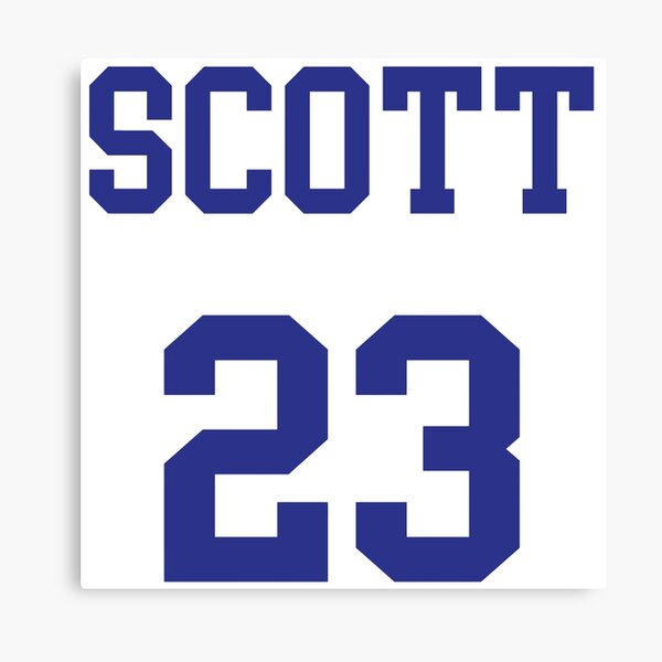 SCOTT 23 RAVENS basketball Canvas Print