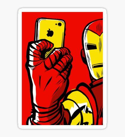 Stark #Selfie Sticker