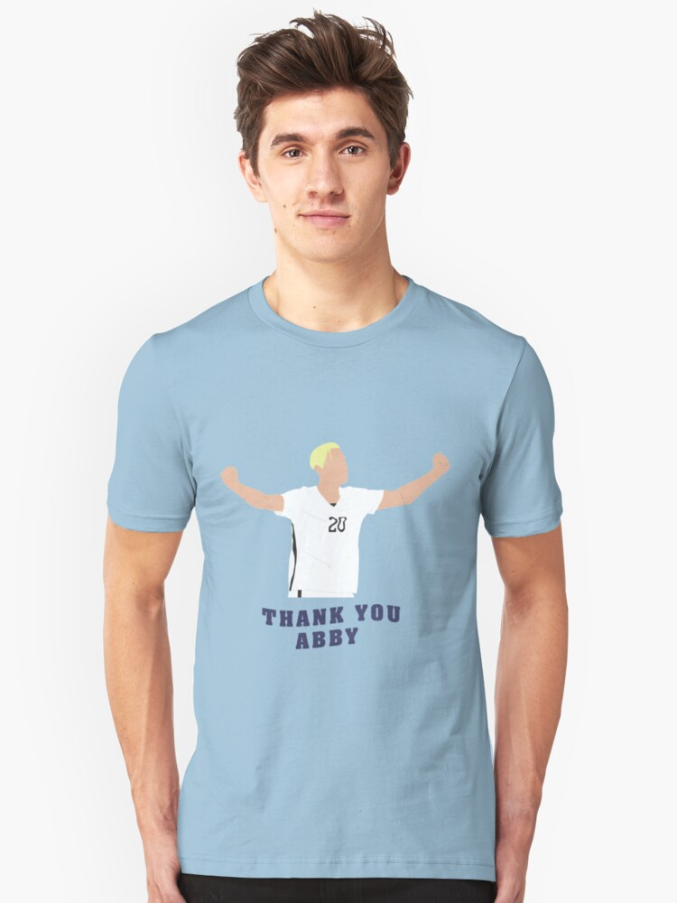 THANK YOU ABBY Unisex T-Shirt Front