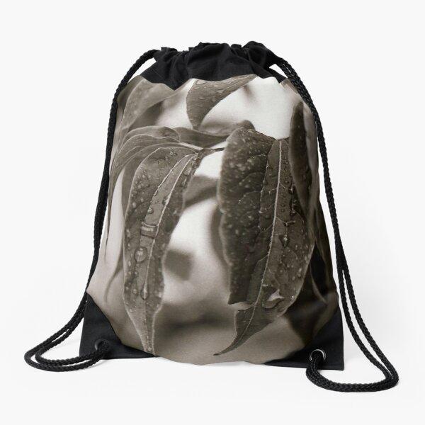 Rainy Fourth of July Drawstring Bag