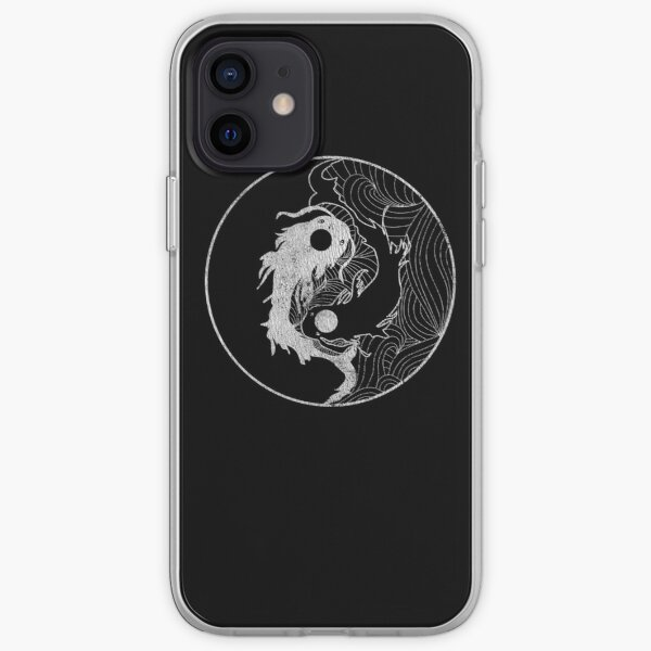 Yin and Yang Coy Fish iPhone Soft Case