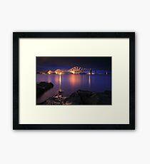 Forth Railway Bridge Framed Print