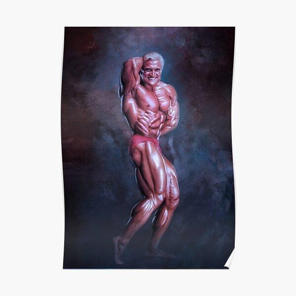 Tom Platz Mr Universe Bodybuilding Art Poster