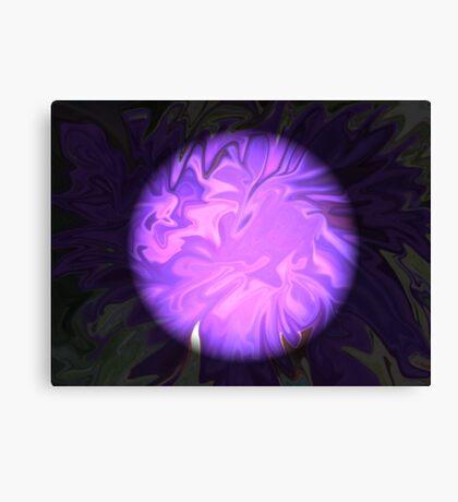 The Colour Purple Canvas Print