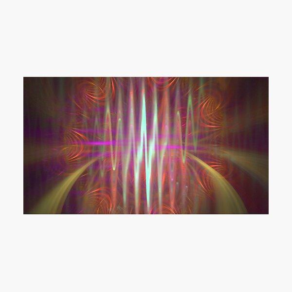 Gravitational Waves Fractal Art Photographic Print