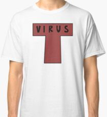 Gorillaz: 2D's 'T-Virus' shirt (Clint Eastwood MV) Classic T-Shirt