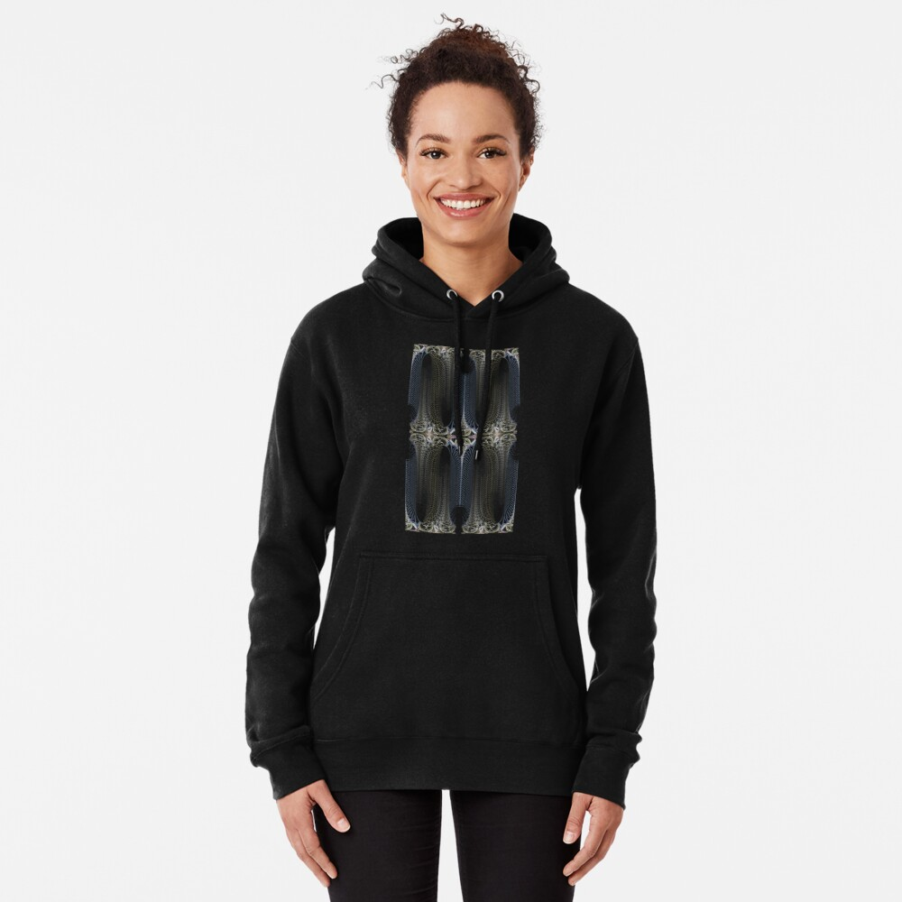 The Tapestry Panels of Talska Pullover Hoodie