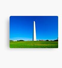 Washington Monument, Washington DC Canvas Print