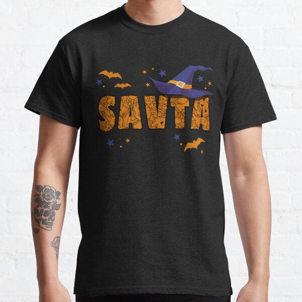 Savta Witch Cute Grandma Savta Halloween Costume Funny Classic T-Shirt