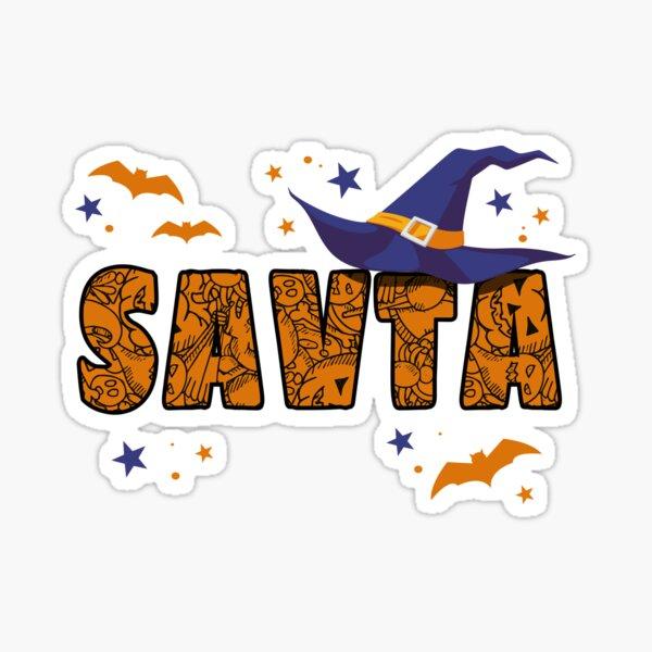 Savta Witch Cute Grandma Savta Halloween Costume Funny Sticker