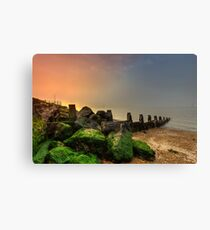 Fishbourne Sunset Canvas Print