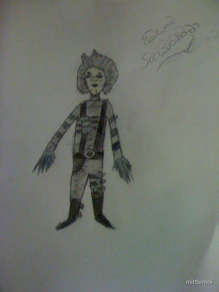 Edward Scissorhands!  by mittlemoi