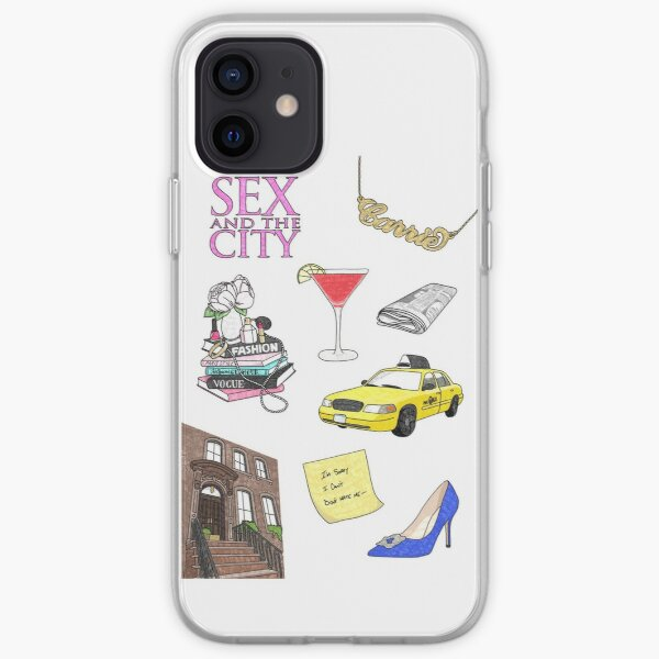 Sex and the city stuff iPhone Soft Case