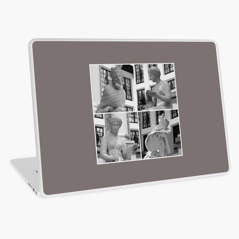 Gods-Goddesses-Muses-Greek Mythology Laptop Skin