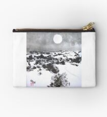 Winter Moon in the High Desert Studio Pouch