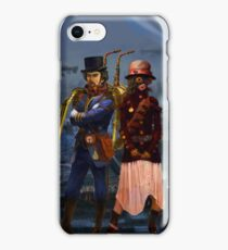 Two Steampunks iPhone Case/Skin
