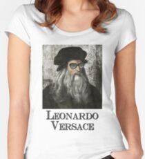 Leonardo Versace Women's Fitted Scoop T-Shirt