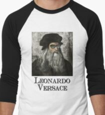Leonardo Versace Men's Baseball ¾ T-Shirt