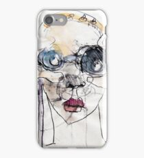 Binoculars Monoprint iPhone Case/Skin