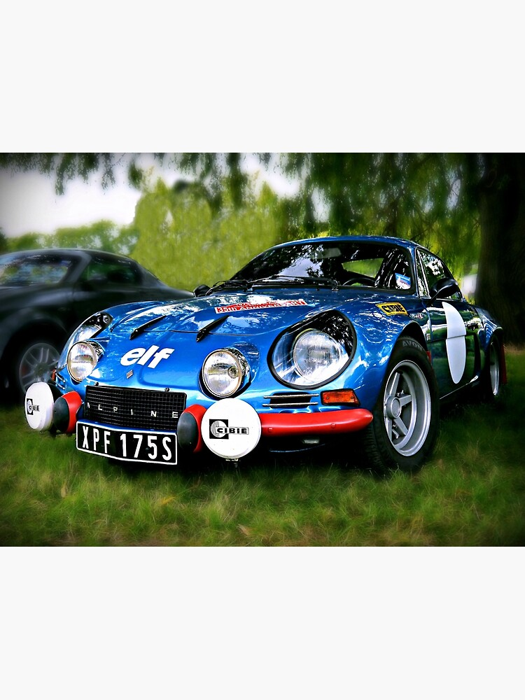 """The Alpine A110 """"Berlinette"""" by ScenicViewPics"""