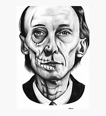 Julian Richings - Death Photographic Print