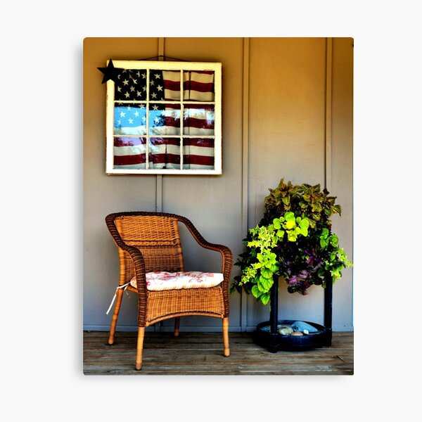A day on the Porch. Canvas Print