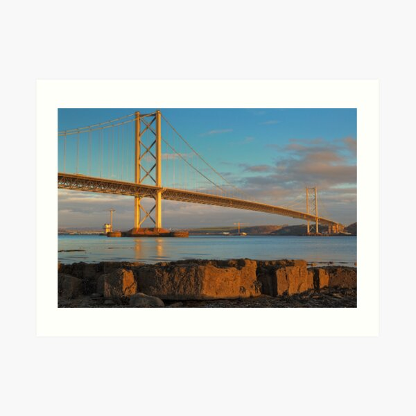 Forth Road Bridge (2) Art Print