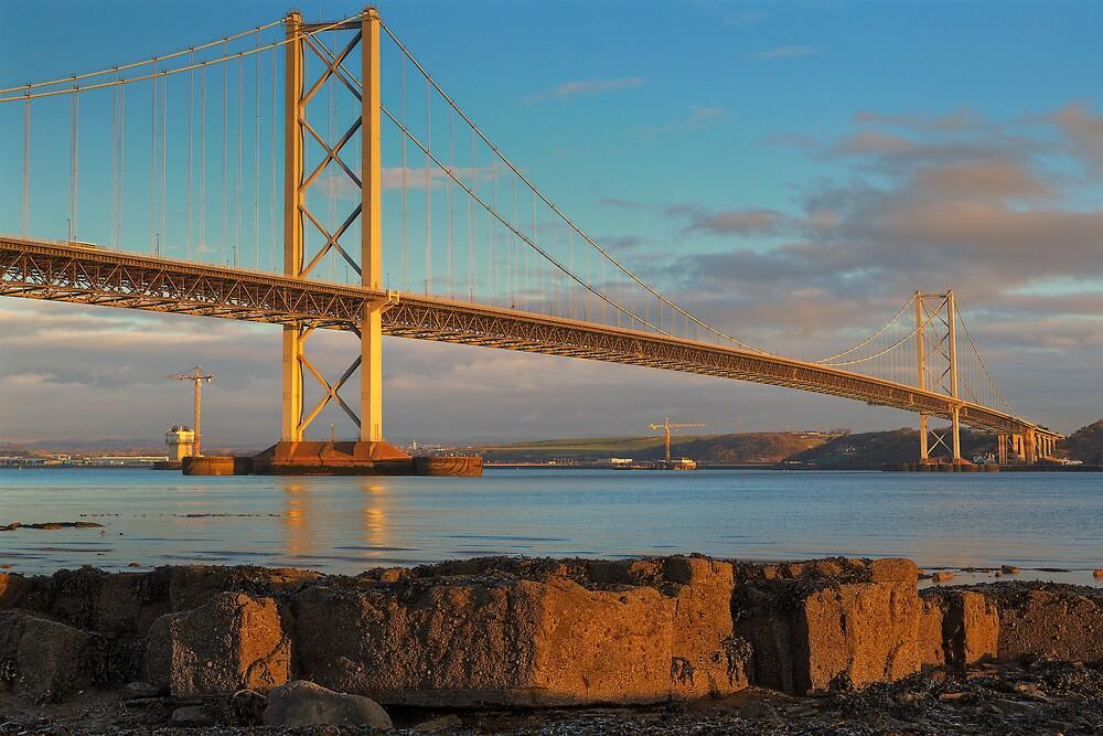 Forth Road Bridge (2) by Karl Williams