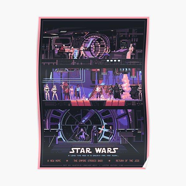 Stars Wars: películas de los 80 Póster