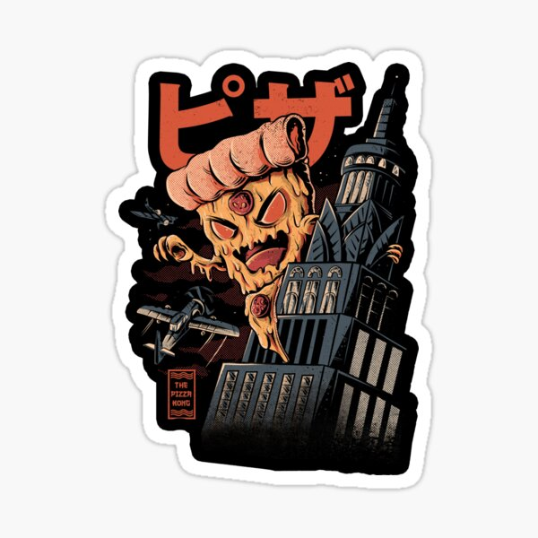 Pizza Kong Sticker