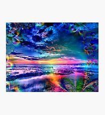 Sky of Heavenly Wonders Photographic Print