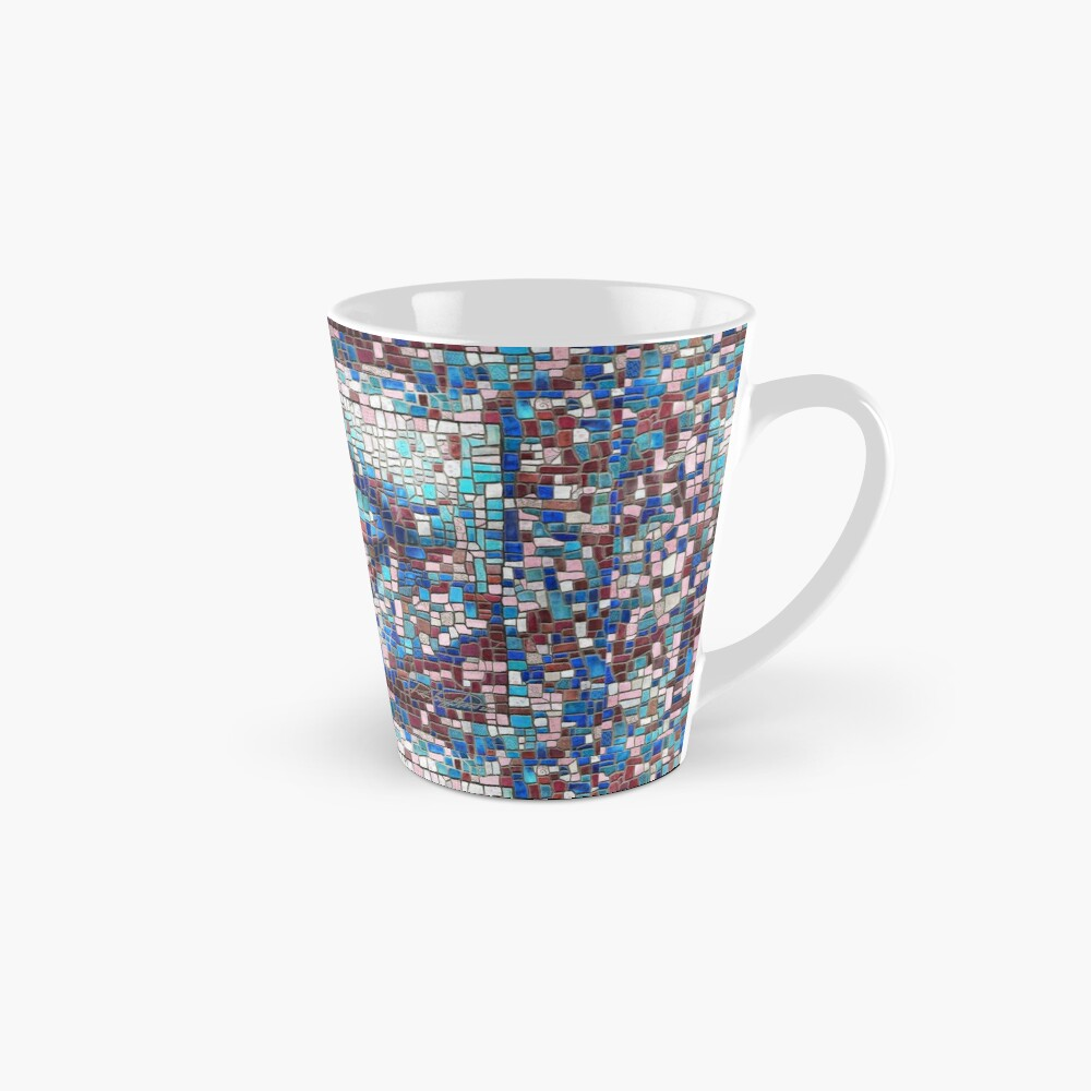 """Broken"" (mosaic tile, painted) - ""Smile"" Fine Art series Mug"
