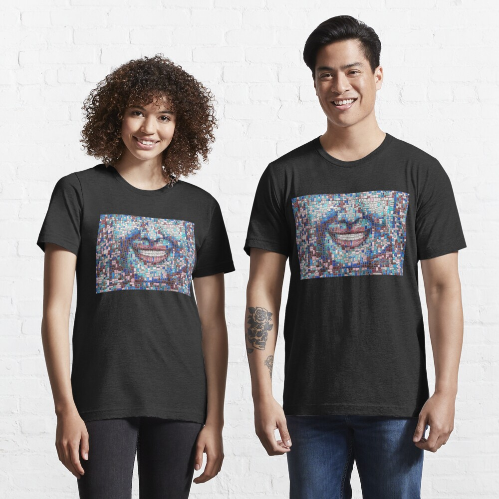 """Broken"" (mosaic tile, painted) - ""Smile"" Fine Art series Essential T-Shirt"