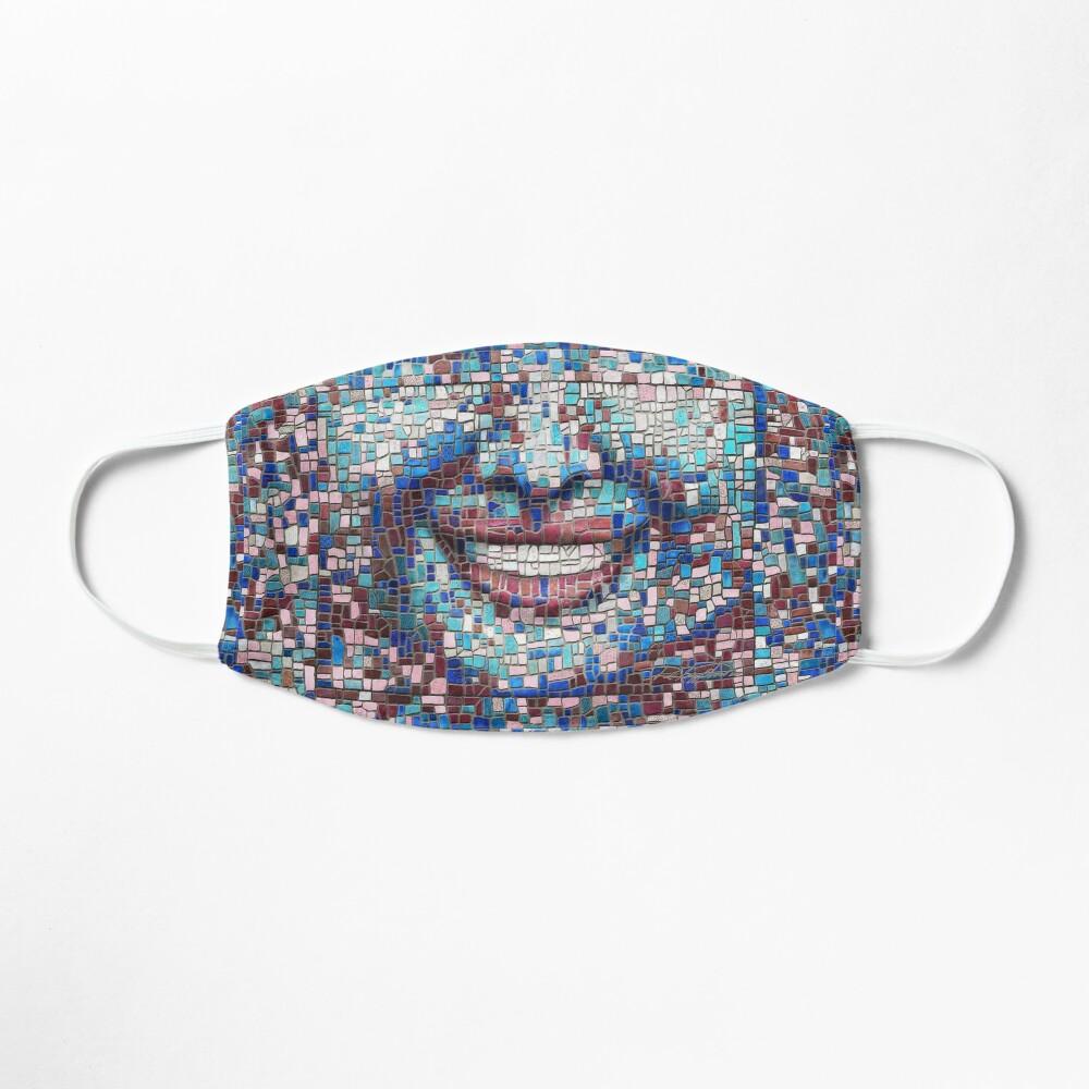 """Broken"" (mosaic tile, painted) - ""Smile"" Fine Art series Mask"