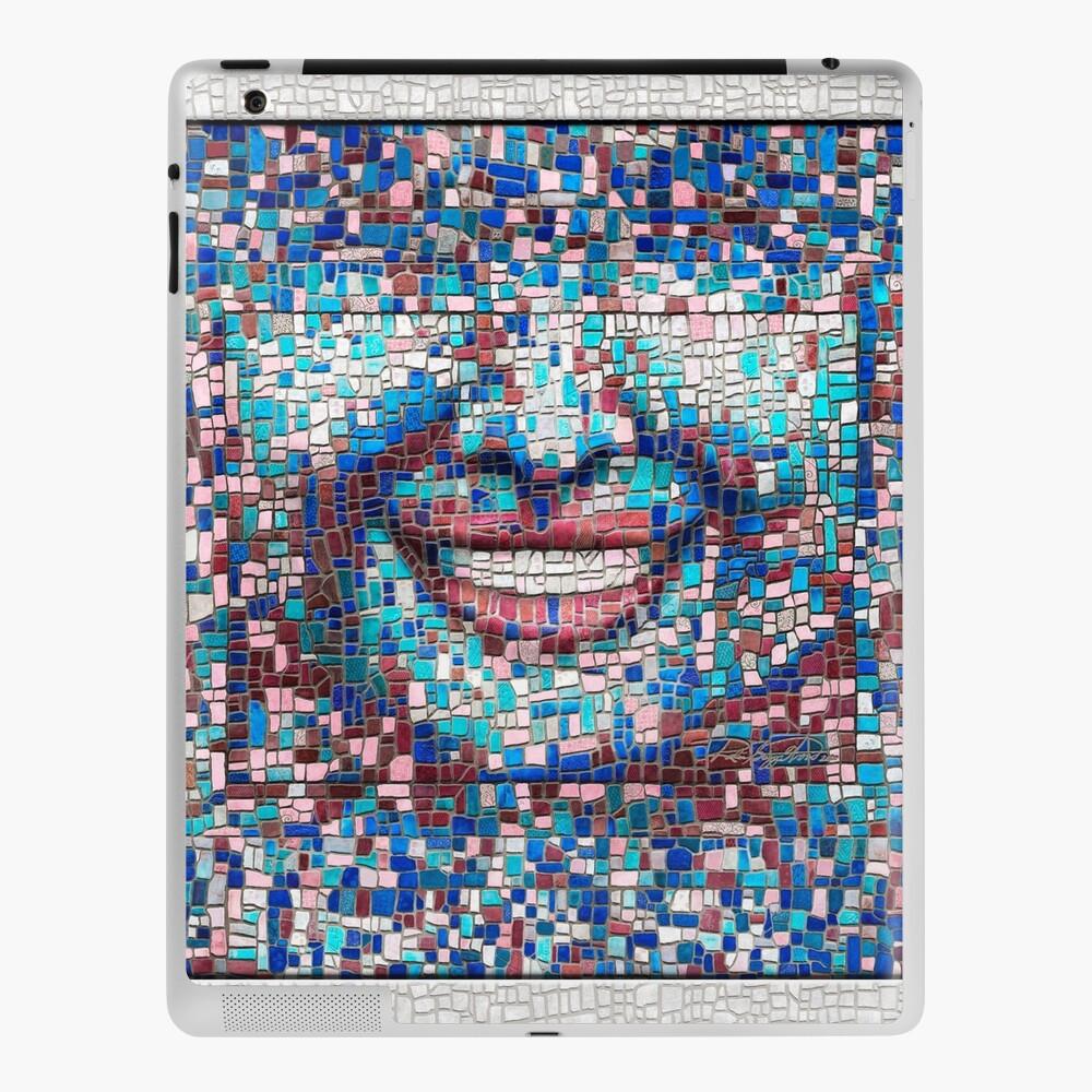 """Broken"" (mosaic tile, painted) - ""Smile"" Fine Art series iPad Case & Skin"