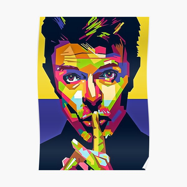 Bowie poster  Poster