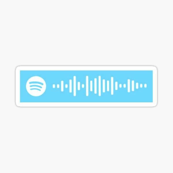 Phineas and Ferb Theme Song Spotify Code Sticker