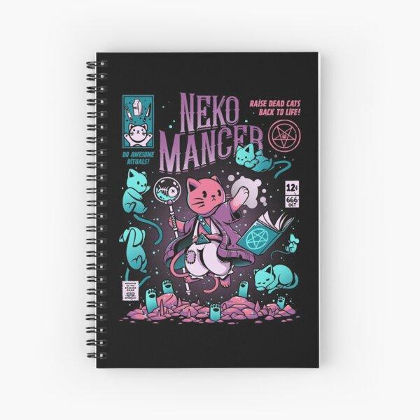 Nekomancer Spiral Notebook