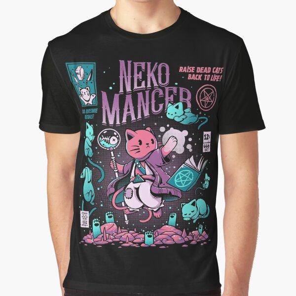 Nekomancer Graphic T-Shirt
