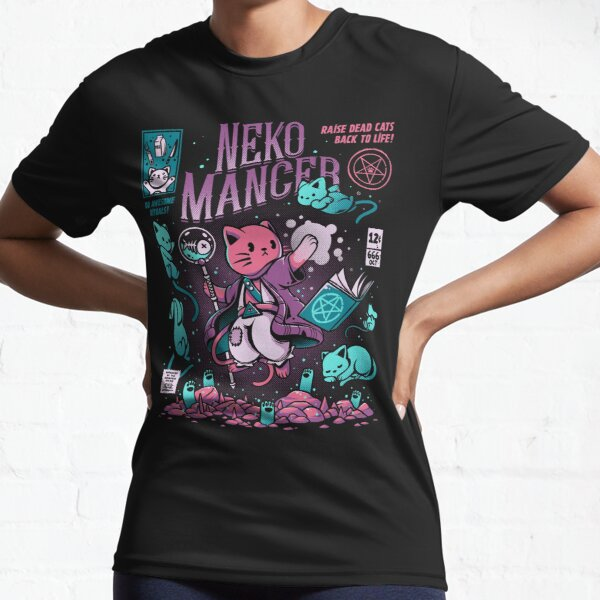 Nekomancer Active T-Shirt