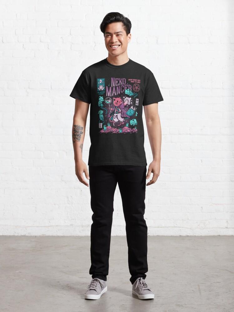 Alternate view of Nekomancer Classic T-Shirt