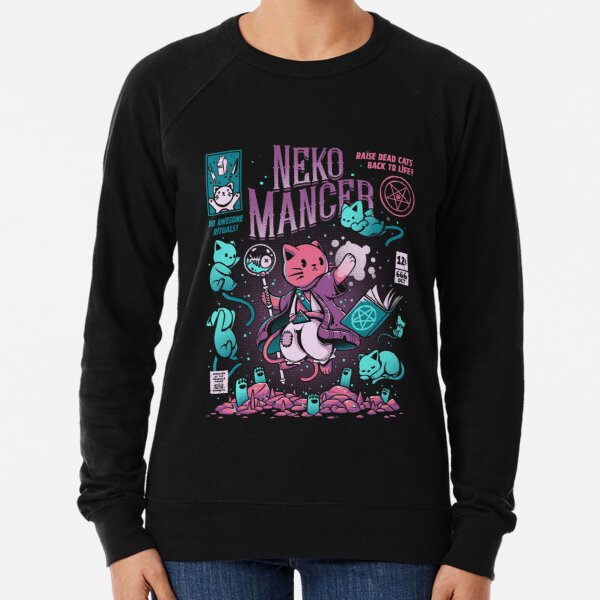 Nekomancer Lightweight Sweatshirt