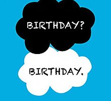 TFIOS Birthday Card by Jacob Anderson