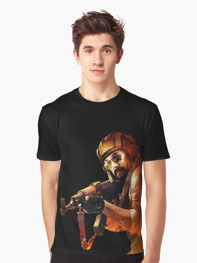 counter strike global offensive terrorist Graphic T-Shirt Front