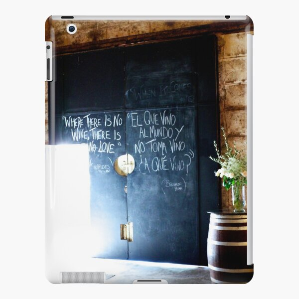 Where there is no wine, there is no love. iPad Snap Case