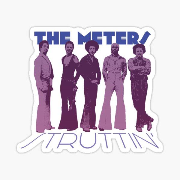 The Meters Struttin  Sticker