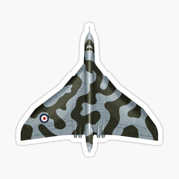 The Vulcan Bomber Blueprint Sticker