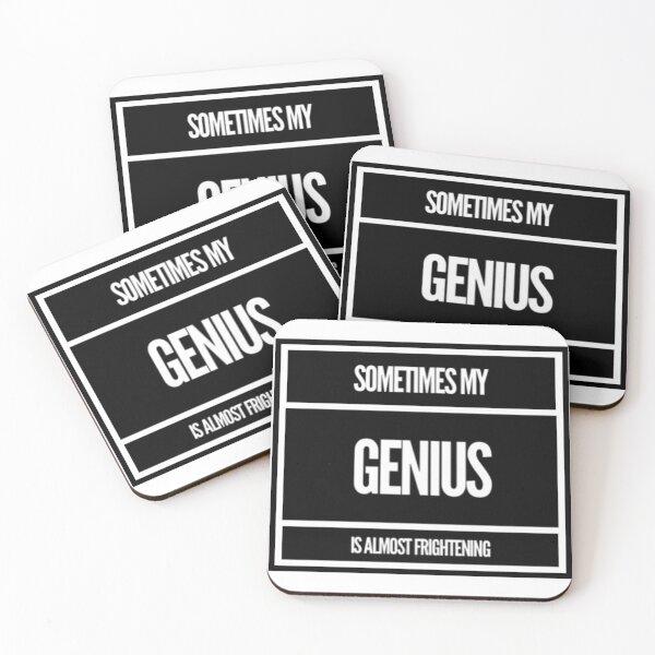 Genius Coasters (Set of 4)