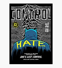 Post-Punk Bat: Control Photographic Print